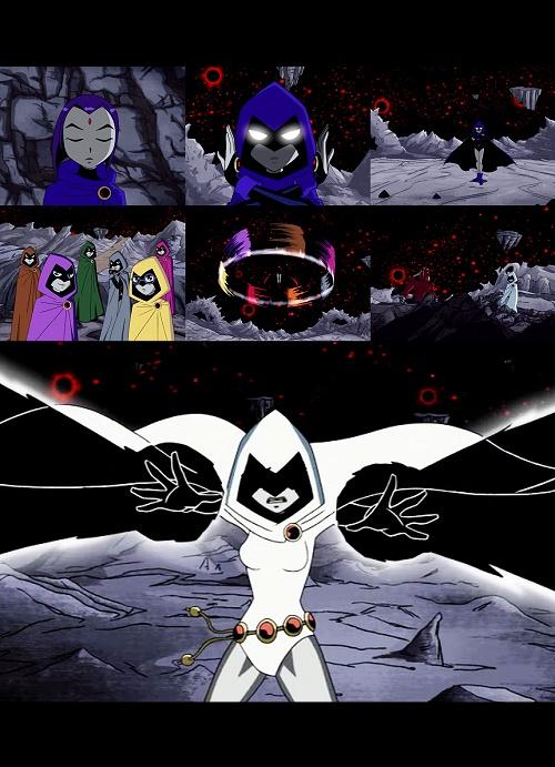 Character: Raven (Teen Titans)