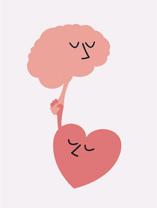 Heart OR Brain...Brain OR Heart.. But when they meet...