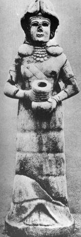 probably Inanna / Ishtar, found in Mari