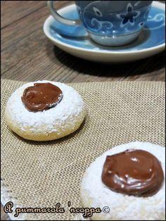 Biscottini al philadelphia con nutella ricetta cucina blog giallo zafferano a pummarola 'ncoppa