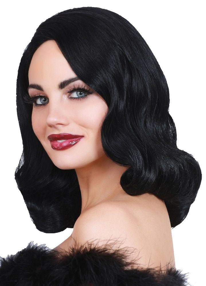 Wig Hollywood Glamour Black Weave Hairstyles Crochet Hair Styles Lace Front Wigs