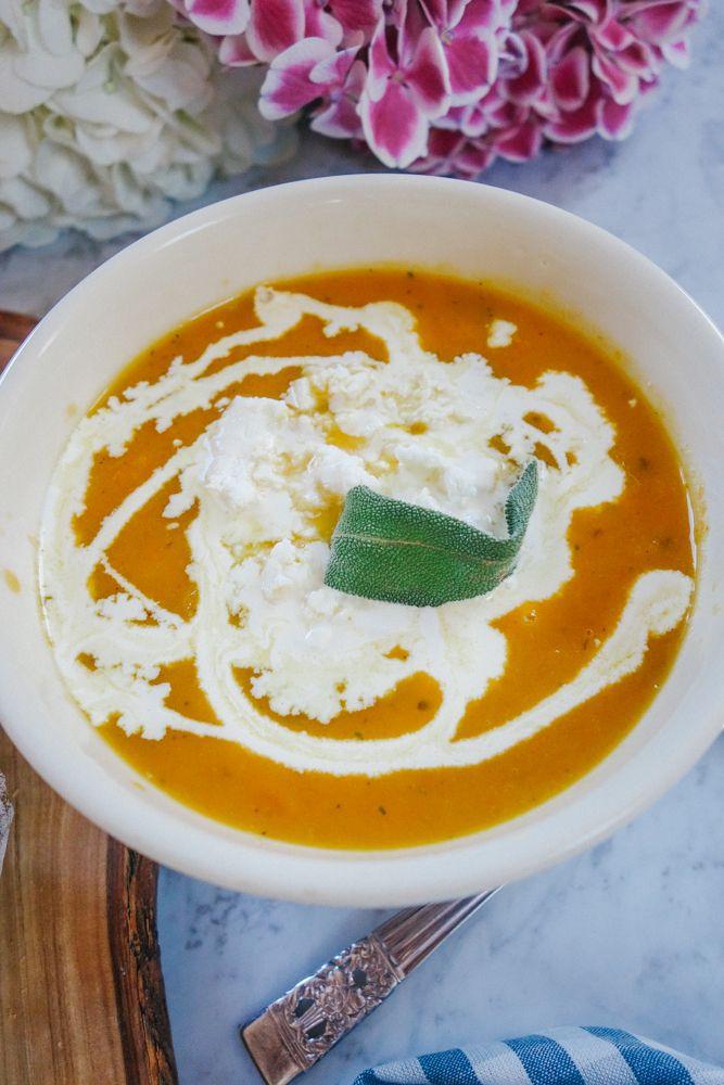 Roasted Veg Soup Recipe