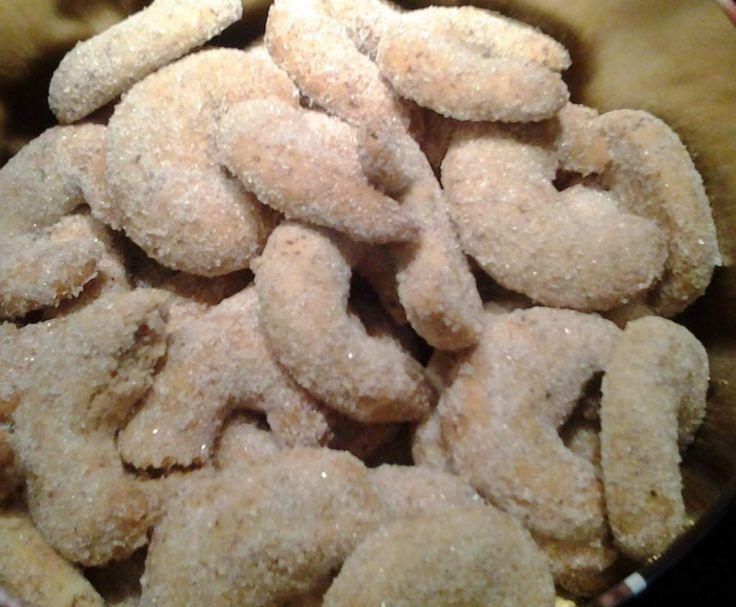 Rezept Vanille-Mandelgipferl von Haselmaus00 - Rezept der Kategorie Backen süß