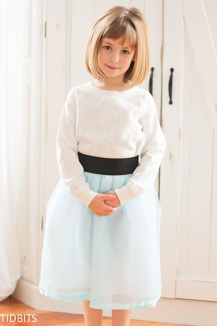 ad9fcd571e Tulle Skirt with a Wide Elastic Waistband (Version #2) | Embroidery ...