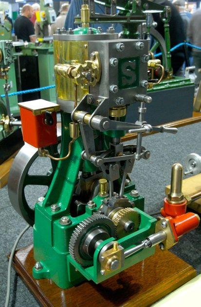 Stuart Models steam engine
