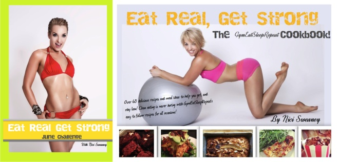 Special Offer! Get the June ERGS Challenge AND the Cookbook for a huge 20% discount!!