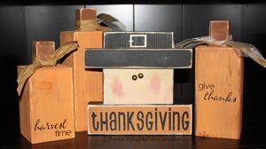 pilgrim thanksgiving decorThanksgiving Fal, Wood Block, Halloween Fall Thanksgiving, Fall Halloween, Thanksgiving Kids Crafts, Super Saturday, Wood Crafts, Crafts Kits, Inexpensive Crafts