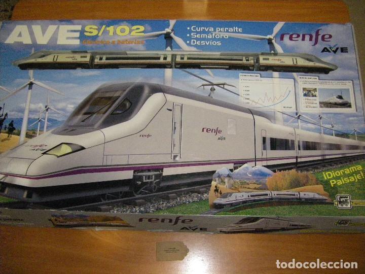 AVE S/102. RENFE TREN AVE. PEQUETREN (Juguetes - Trenes - Varios)
