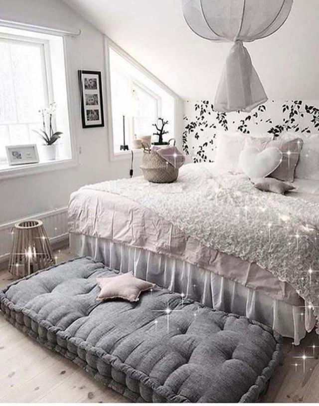 75 Cozy Scandinavian Bedroom Ideas Go Diy Home Small Room Bedroom Room Inspiration Bedroom Decor