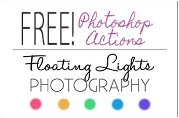 3 Free Photoshop Actions from Floating Lights Photography