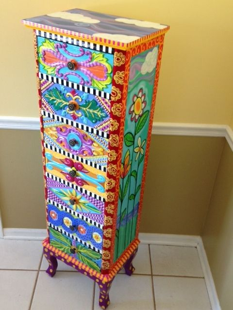 Whimsical Painted Furniture Whimsical Handpainted