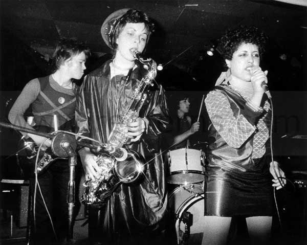 X Ray Spex with singer Poly Styrene (R)