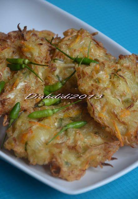 Diah Didi's Kitchen: Bakwan Sayur & Bakwan Singkong