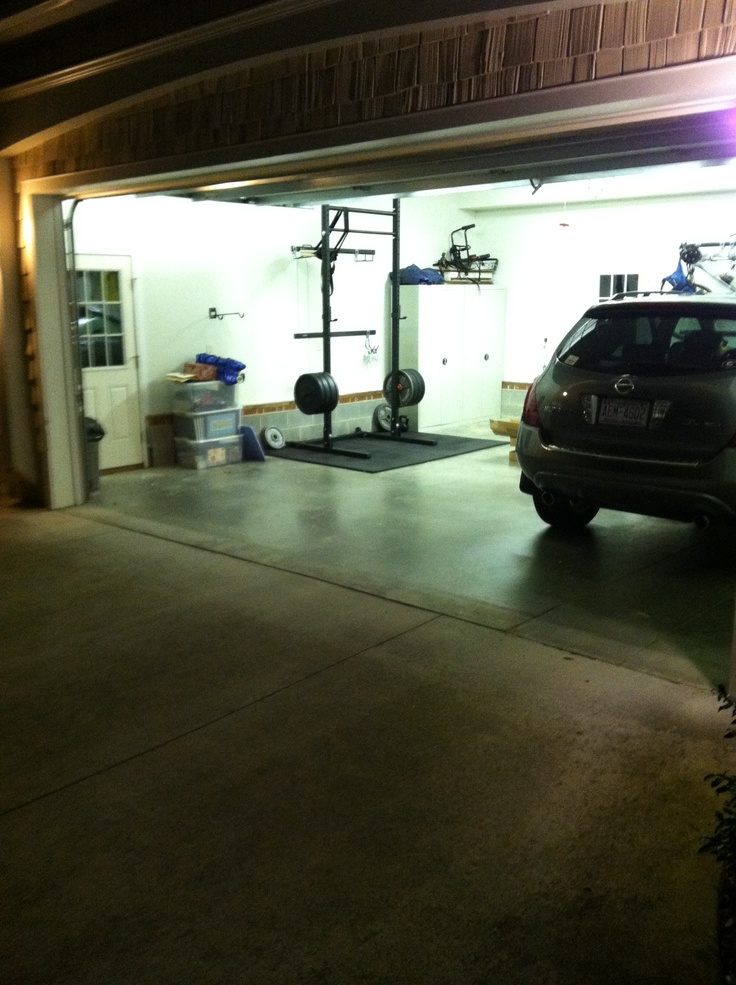 Best home gym images on pinterest gyms garage and garages