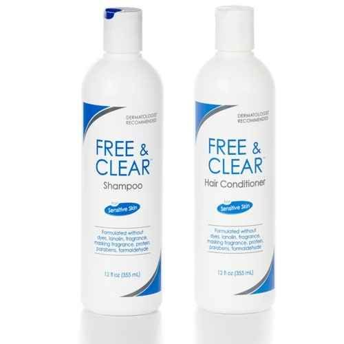Free & Clear Shampoo and Conditioner | 30 Products That Will Save Your Sensitive Skin