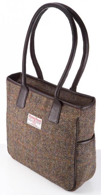 Harris Tweed Handbag - Becca - Harris Tweed Bags - Bracken Online