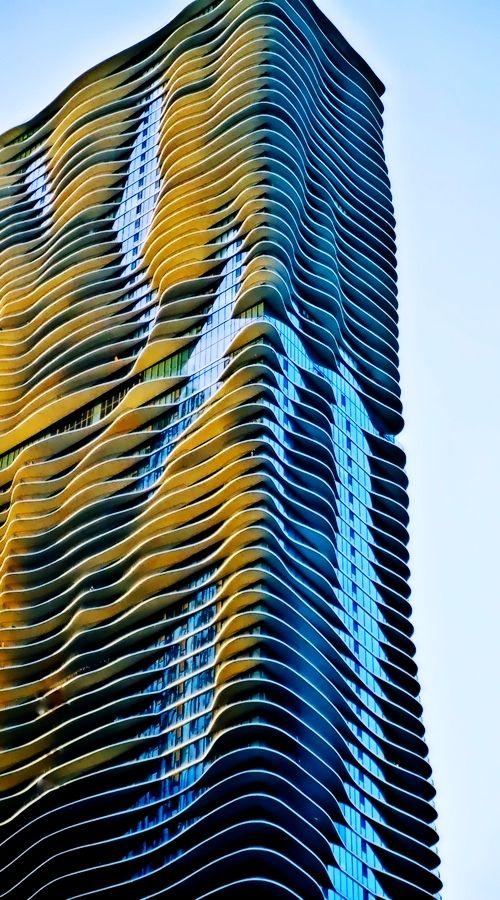Aqua Building - Chicago, Illinois