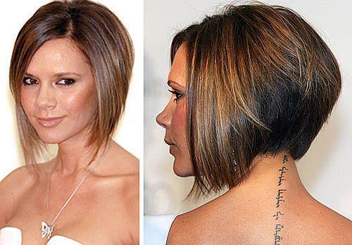 A-line hair style