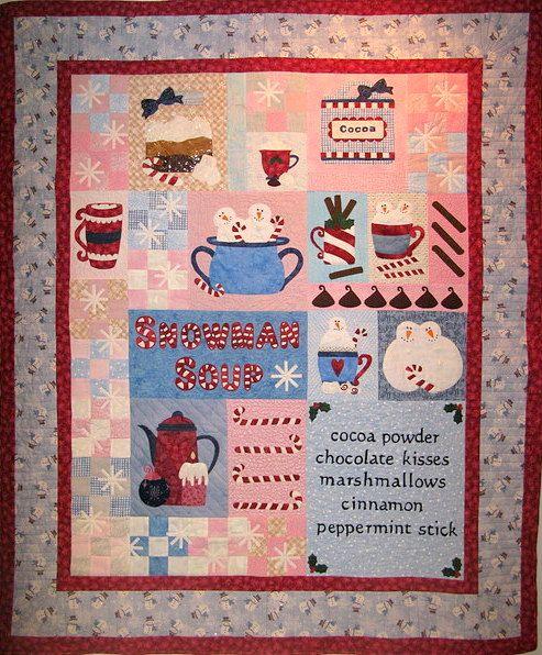 179 best snowman quilts images on Pinterest   Cabinets, Christmas ... : snowman quilts - Adamdwight.com