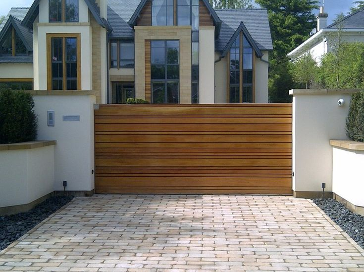 Driveway gate designs exterior contemporary with automatic gates cheshire cedar gate