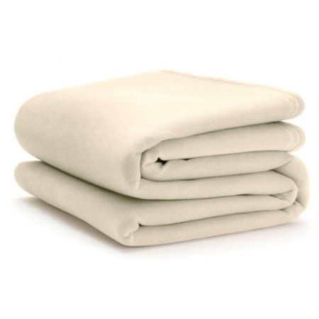 Ultra-Touch Vellux Blanket, Beige