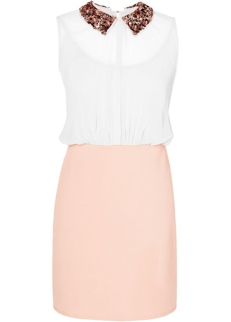 Shirtkleid nude - BODYFLIRT jetzt im Online Shop von bonprix.de ab ? 29,99 bestellen. Sehr elegantes Shirtkleid, mit aufwendiger Paillettenapplikation am ...