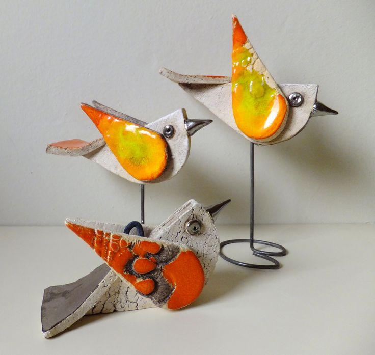 Ceramiczne ptaszki/ Ceramic birds