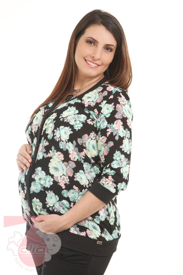 #Cardigan #materno con un diseño moderno para usar durante tu #embarazo.