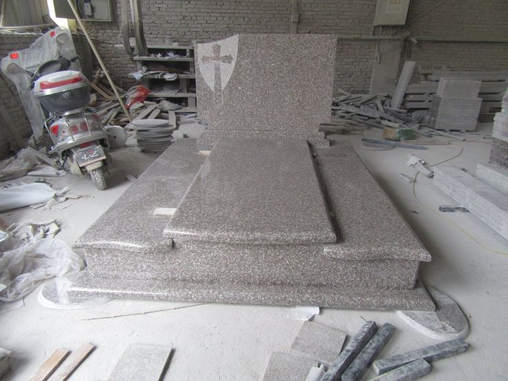 New Design G664 Natural Granite Tombstone, cemetery stones, cost of headstones, buy a tombstone