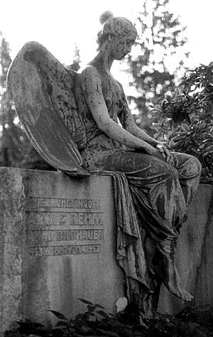 Cemetery Art Photography by Roger Hall,  The photos of the cemetery statues in this gallery were taken in Germany, The Czech Republic, Hungary, Minnesota, and Costa Rica.