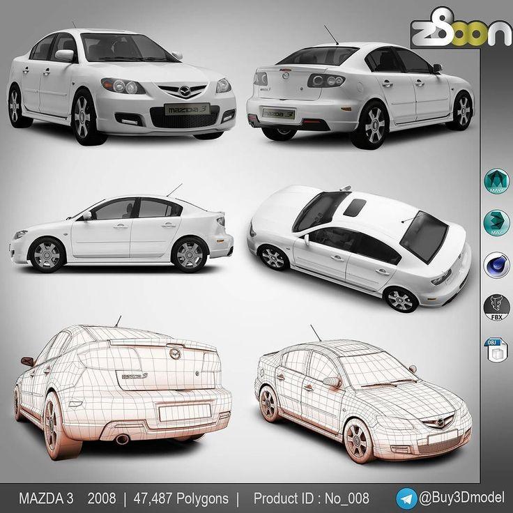Price : Iranian user : 69000 T International user : 39$  buy or more info : direct  Telegram channel link : http://ift.tt/1RydVJd  #maya2015 #z8oon #mazda #3 #mazda3 #buy3dmodel #model3d #3d #maya #fbx #obj #c4d #3dmax #2008 #mazda32008 #mazda2008 #car #vehicles #sport #vehicle #fast #speed #transportation #handling  #withe #street #render #3dmodeling #model #rendering by buy3dmodel