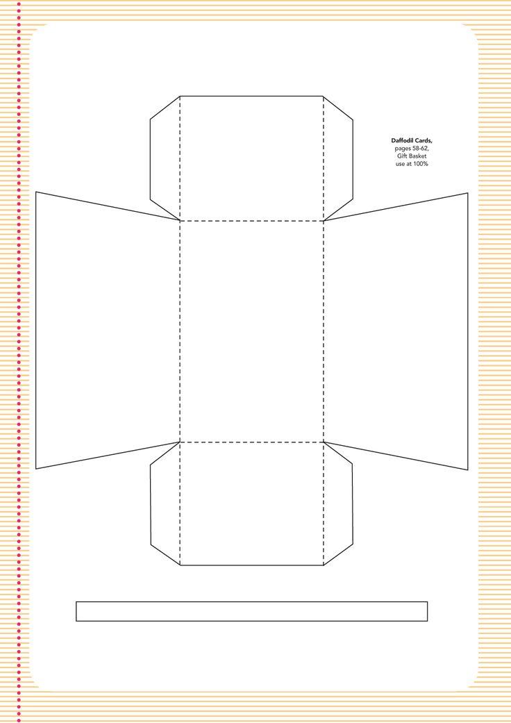 Easter basket | templates | Pinterest