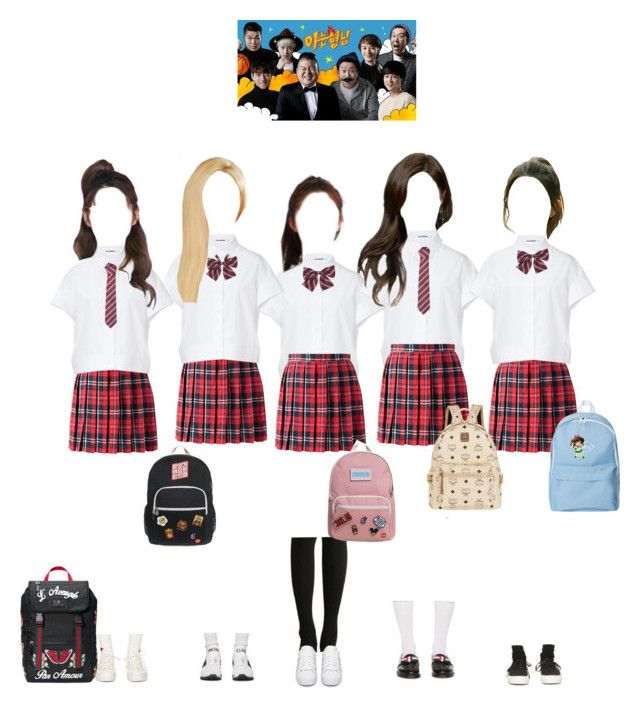 """""""Promise on Knowing Bros"""" by promise-official ❤ liked on Polyvore featuring Won Hundred, Visvim, Jil Sander, Moncler Gamme Rouge, Thom Browne, adidas Originals, Gucci, MCM, promise and varietyshowappearance"""