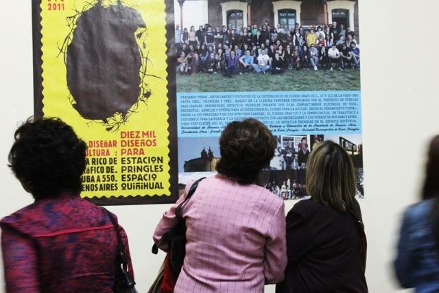 Expo de cátedra en Pringles, Casa de la Cultura, 2012