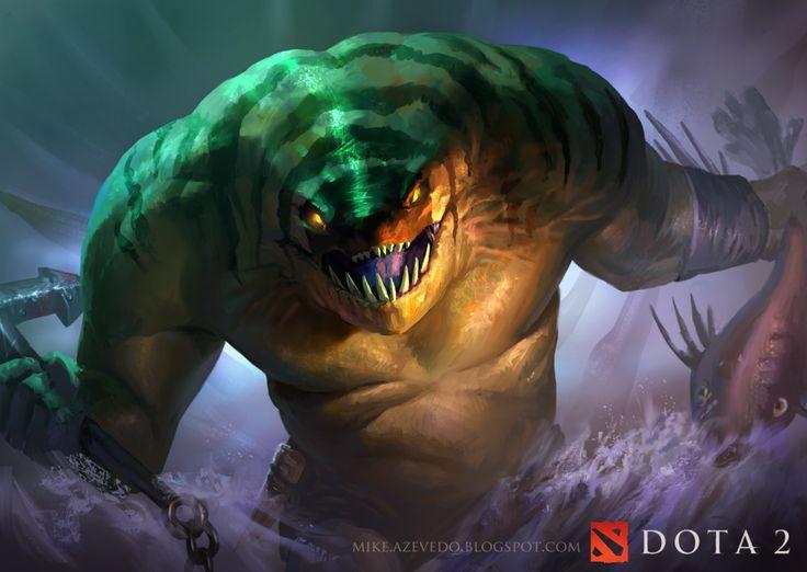 #Dota2 Tidehunter by MikeAzevedo.deviantart.com on @deviantART
