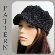 Crochet Newsboy Hat Pattern Free | Free Easy Crochet Patterns Crochet ...                                                                                                                                                                                 More