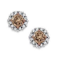 Heavenly Chocolate diamonds studs