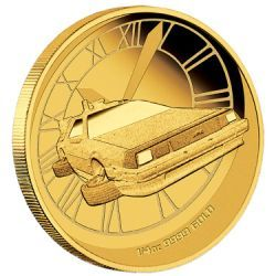 Back to the Future 2015 1/4oz Gold Proof Coin #AVeryMintChristmas I loved this movie! At the time, 2015 genuinely seemed so far away and I imagined that we all really would by flying around on hoverboards! It is amazing that 2015 is finally here and I would treasure a coin that represented such an epic movie of my childhood.