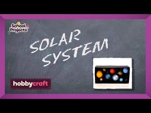 How to Make a Model Solar System | Hobbycraft - YouTube