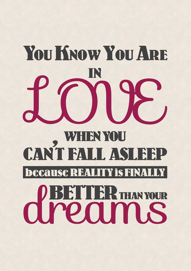 Posters With Quotes About Love : Explore Sweet Quotes, Dream Quotes, and more!