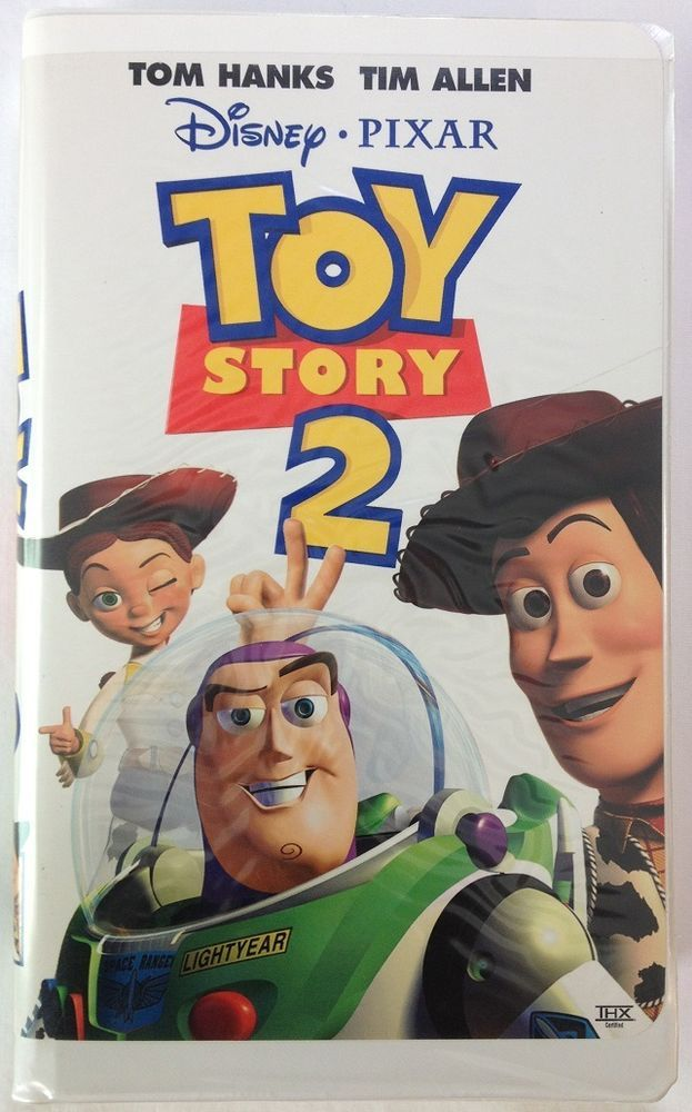 Toy Story 2 Disney Pixar Vhs With Tom Hanks And Tim Allen Disney Animated Movies Toy Story Disney Toys