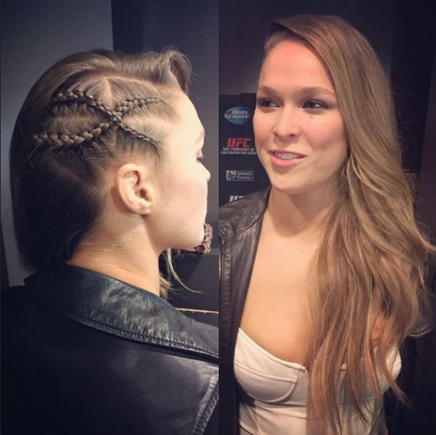 MMA Haircare with Ronda Rousey's Longtime Stylist, Abraham Esparza | FIGHTLAND