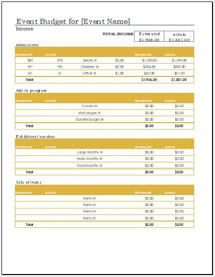 Any Year Expense Calculator Sheet Template DOWNLOAD FREE at http://www.xltemplates.org/any-event-expense-calculator-sheet/