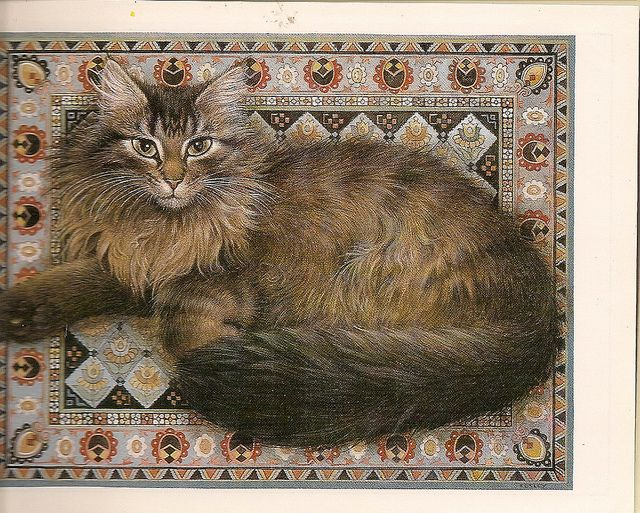 lesley anne ivory cats | Lesley Anne Ivory's Cat Painting | Flickr - Photo Sharing!