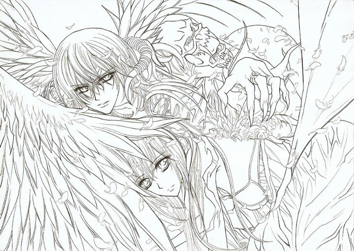 157 best Angel Coloring pages images on Pinterest | Coloring books ...