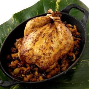 Stuffed Chicken (Gallina Rellena)