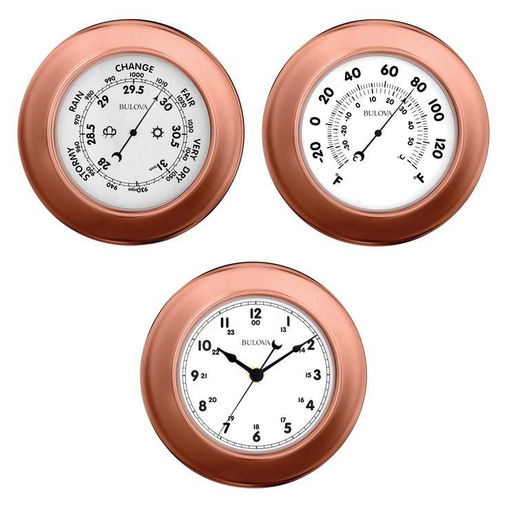 Bulova C4829 Weather Info Station and Clock - C4829