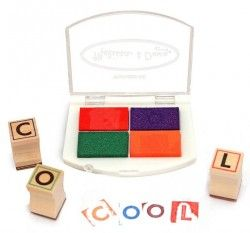Melissa & Doug - Alphabet Stamp Set Shop Online - iQToys.co.nz