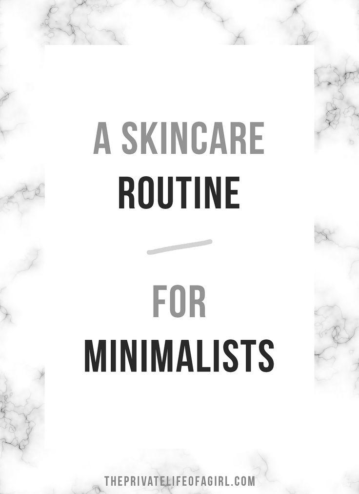 Skincare For Minimalists