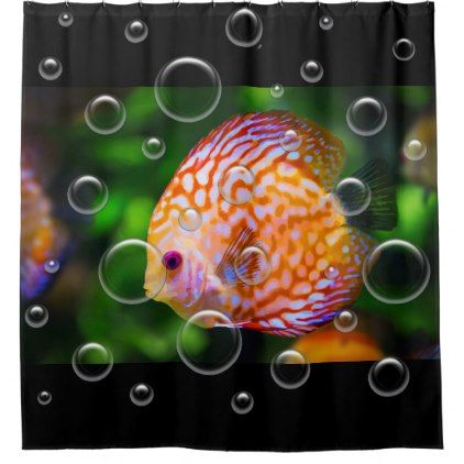 Tropical Fish Bathroom Decor Shower Curtain - home gifts ideas decor special unique custom individual customized individualized